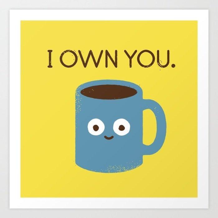 "<a href=""https://society6.com/product/coffee-talk-8w4_print#s6-1102190p4a1v45"" target=""_blank"">Coffee talk art print</a>, $16"