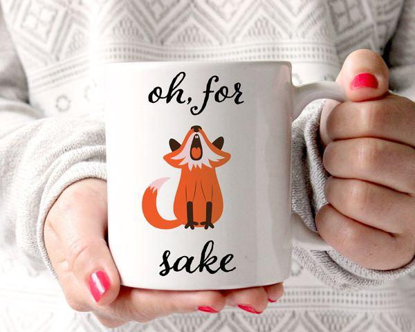"""<a href=""""https://www.etsy.com/listing/486502807/oh-for-fox-sake-coffee-mug-funny-coffee?ga_order=most_relevant&ga_search_"""