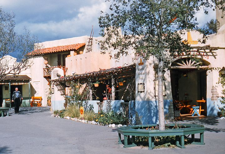 Casa de Fritos, the restaurant where Doritos were reportedly invented in the 1960s. Now, the space is known asRancho del Zocalo Restaurante.