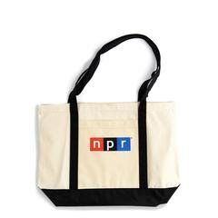 Give your a lovedonea bag branded with the logo of their favorite news organization -- the perfect item tot