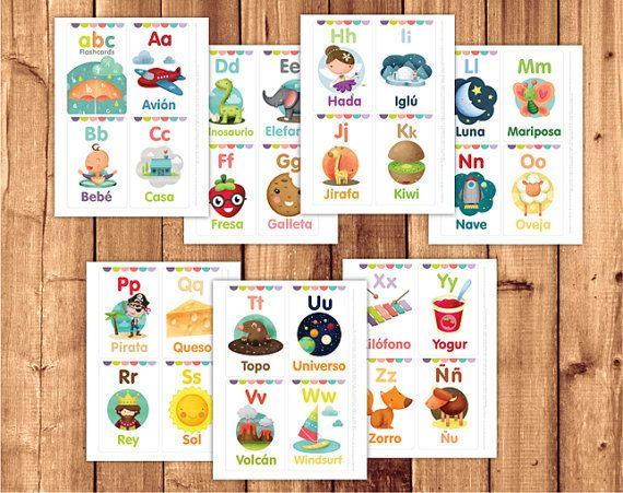"$5.00,&nbsp;Little Graphics. <a href=""https://www.etsy.com/listing/225964487/spanish-flashcards-for-kids-printable?ref=relate"