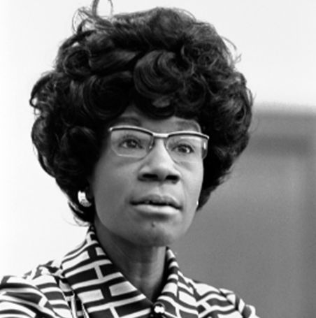 <p>The late Shirley Chisholm.</p>