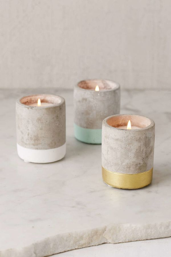 """Small concrete candle, $14, <a href=""""http://www.urbanoutfitters.com/urban/catalog/productdetail.jsp?id=39402789&category="""