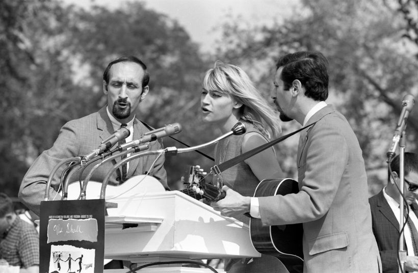 Image result for peter paul and mary 1963