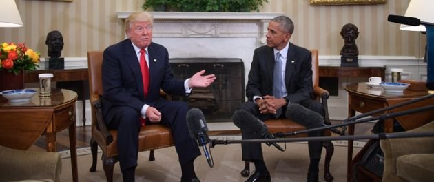 In a little morethan one month, Donald Trump will replace Barack Obamaas