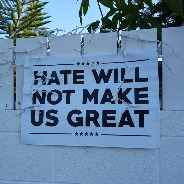 <strong>Anti-Hate Poster </strong>