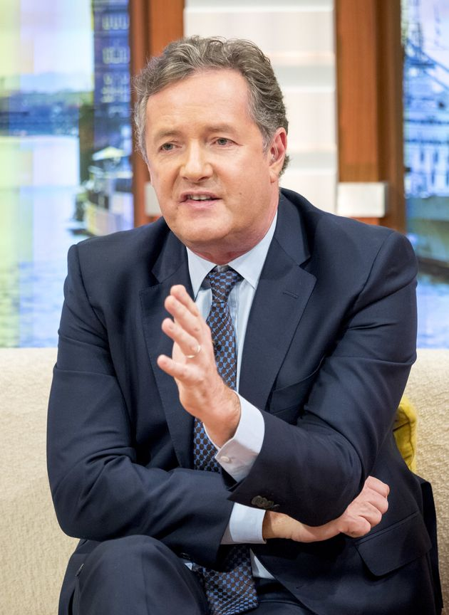 Piers Morgan has hit out at the