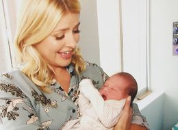 Holly Willoughby Overcome With Broodiness As She Cradles Baby Minutes After Birth