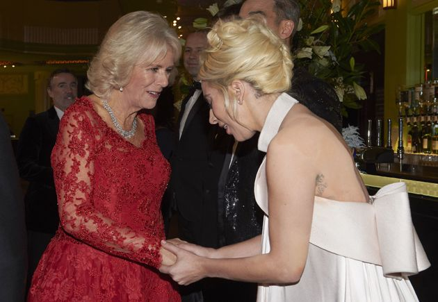 Lady Gaga Shares A Moment With Duchess Of Cornwall After Royal Variety
