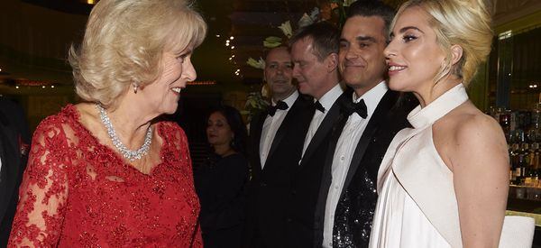 Lady Gaga Shares An Unexpected Moment With Duchess Of Cornwall At Royal Variety Show