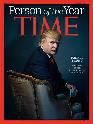Donald Trump Winning Time Person Of The Year Has Really Capped Off
