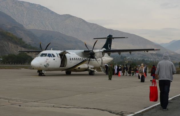 A Pakistani International Airlines ATR aircraft similar to the one involved in Wednesday's crash pictured...