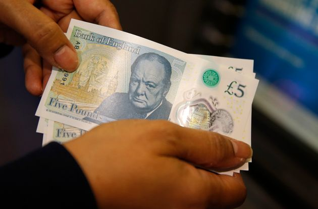 Four lucky people could be carrying around new £5 notes that are worth thousands of