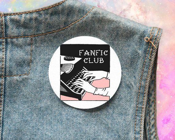 """$5.50. <a href=""""https://www.etsy.com/listing/277312834/fanfic-fandom-feminist-patch-geek-geek?ga_order=most_relevant&ga_s"""