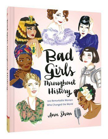 "$19.95. <a href=""http://www.chroniclebooks.com/titles/bad-girls-throughout-history.html"" target=""_blank"">Buy it here.</a>"