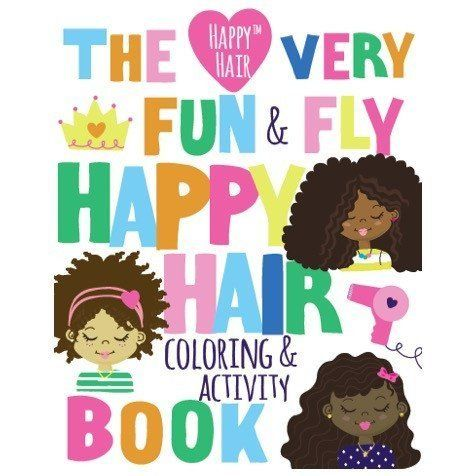 "An activity and coloring book from the Happy Hair Shop. <a href=""https://happyhairshop.com/collections/frontpa"