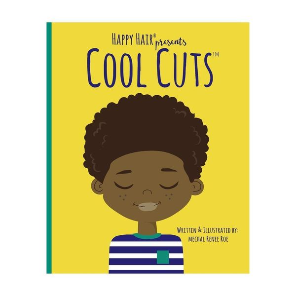 "A self-love book for boys. ""Cool Cuts"" is a sequel to ""Happy Hair,"" a call-and-response book aimed at girls. <a href=""ht"