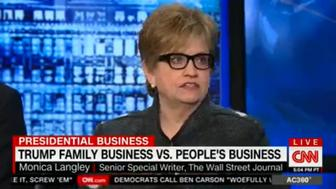 The Wall Street Journals Monica Langley appeared Monday night on CNN