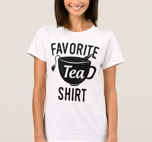 "<a href=""http://www.zazzle.com/favorite_tea_shirt-235957935009814167"" target=""_blank"">Favorite tea shirt</a>, $18.75 at <a hr"