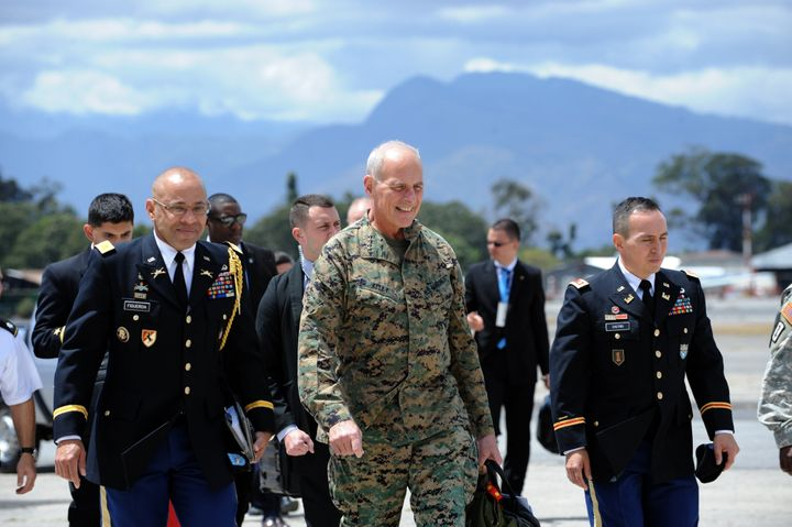 Retired Gen. John Kelly, who headed U.S. Southern Command until earlier this year, is the latest person with a military backg