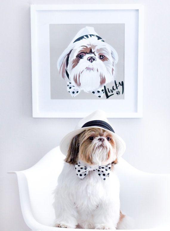 "Custom pet portrait, $64.87, <a href=""https://www.etsy.com/listing/285663455/custom-pet-portrait-pet-portrait-custom?ref=find"