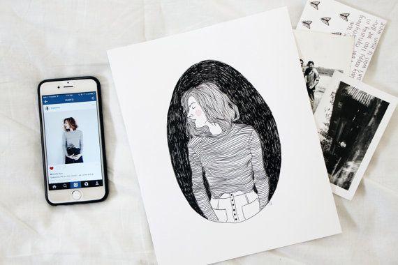 "Custom illustration, $32, <a href=""https://www.etsy.com/listing/267846227/custom-illustration-portrait"" target=""_blank"">Etsy<"