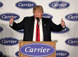 Trump's Carrier Deal Is Mildly Popular