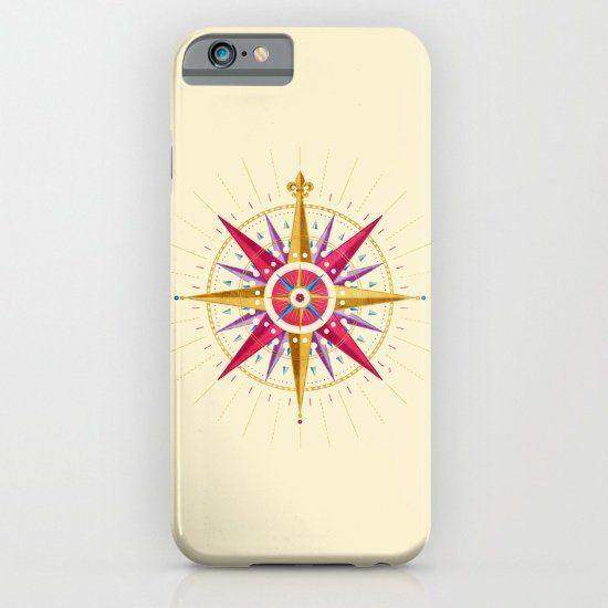 """$29, Society6. <a href=""""https://society6.com/product/compass-rose-ian_iphone-case#s6-3219498p20a9v430a52v377"""" target=""""_blank"""""""