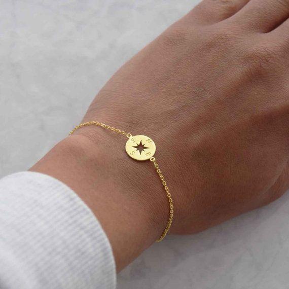 "$22.09, Natasha Bale. <a href=""https://www.etsy.com/listing/450614718/gold-compass-bracelet-compass-bracelet?ga_order=most_re"
