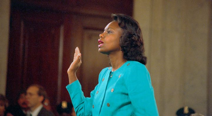 Professor Anita Hill testified before the Senate Judiciary Committee in October 1991 about the sexual harassment she said the