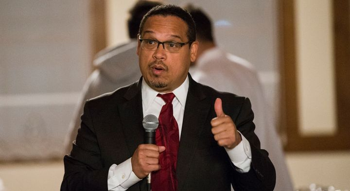 """The Democratic Party must be the party that delivers for working people,"" Rep. Keith Ellison (D-Minn.) said on Tuesday."