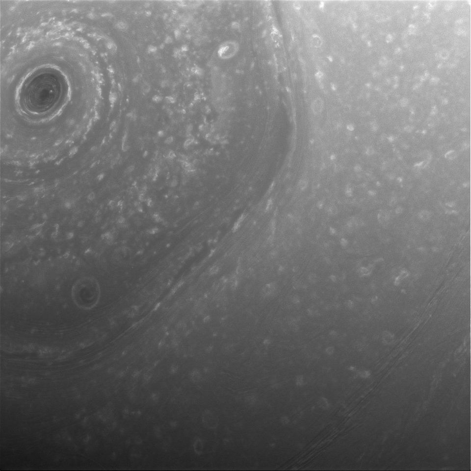 NASA's Cassini Probe Returns Stunning Close-Up Photos Of