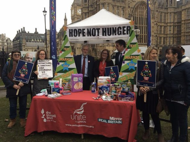 Food Banks Launch Appeal As Christmas Demand