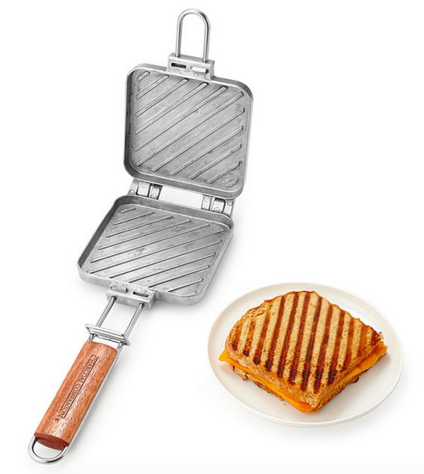 """<a href=""""http://www.uncommongoods.com/product/grilled-cheese-maker"""" target=""""_blank"""">Grilled cheese maker</a>, $24.99 at <a hr"""