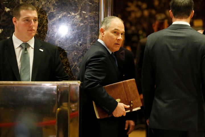 Oklahoma Attorney General Scott Pruitt is reportedly Donald Trump's pick to headthe U.S. Environmental Protection Agenc