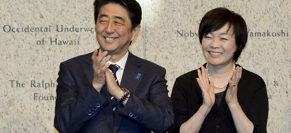 The Japanese Love It When Their First Lady Criticizes Her Husband's Policies