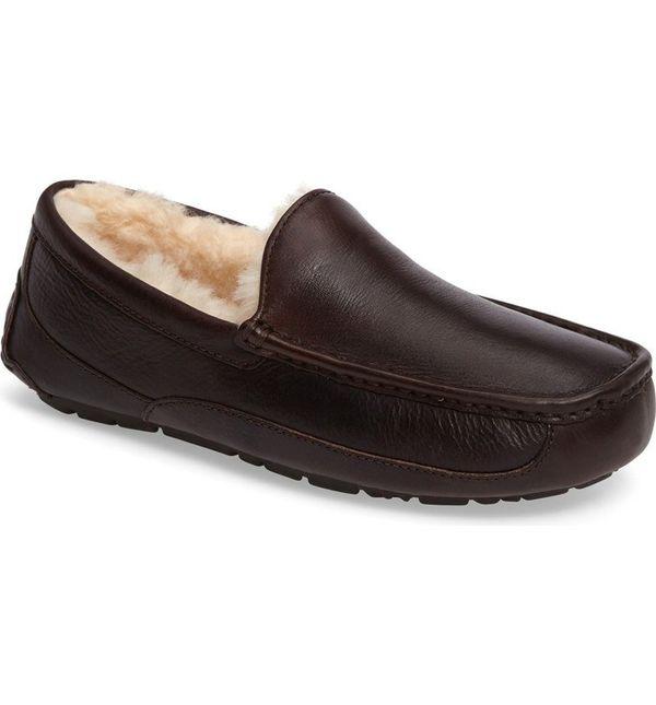 "<a href=""http://shop.nordstrom.com/s/ugg-ascot-leather-slipper-men/2820668?origin=category-personalizedsort&fashioncolor="