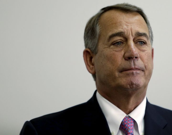 John Boehner is very happy with his life decisions.