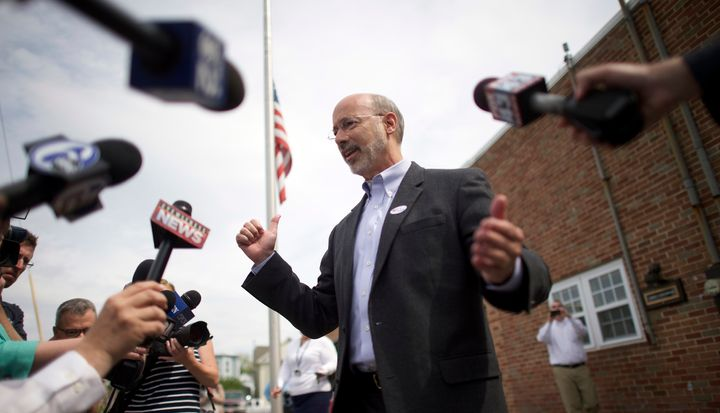 Pennsylvania Gov. Tom Wolf (D) says he's worried what will happen if Republicans in Washington, D.C., repeal Obamacare.