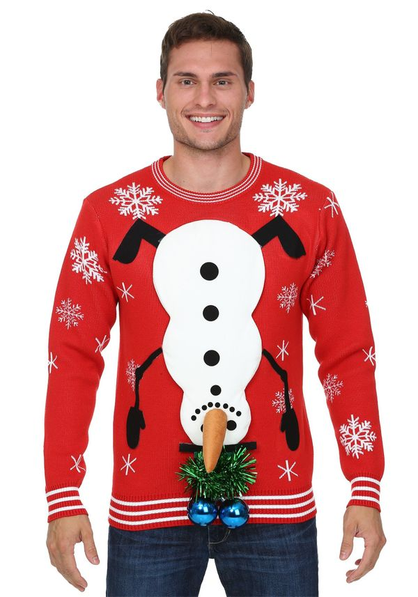 Can Ugly Christmas Sweaters Get Any Uglier Fingers