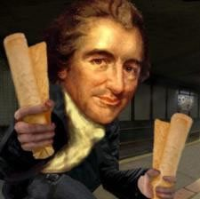 "<em>""Those who expect to reap the blessings of freedom must undergo the fatigue of supporting it"" – Thomas Paine</em>"