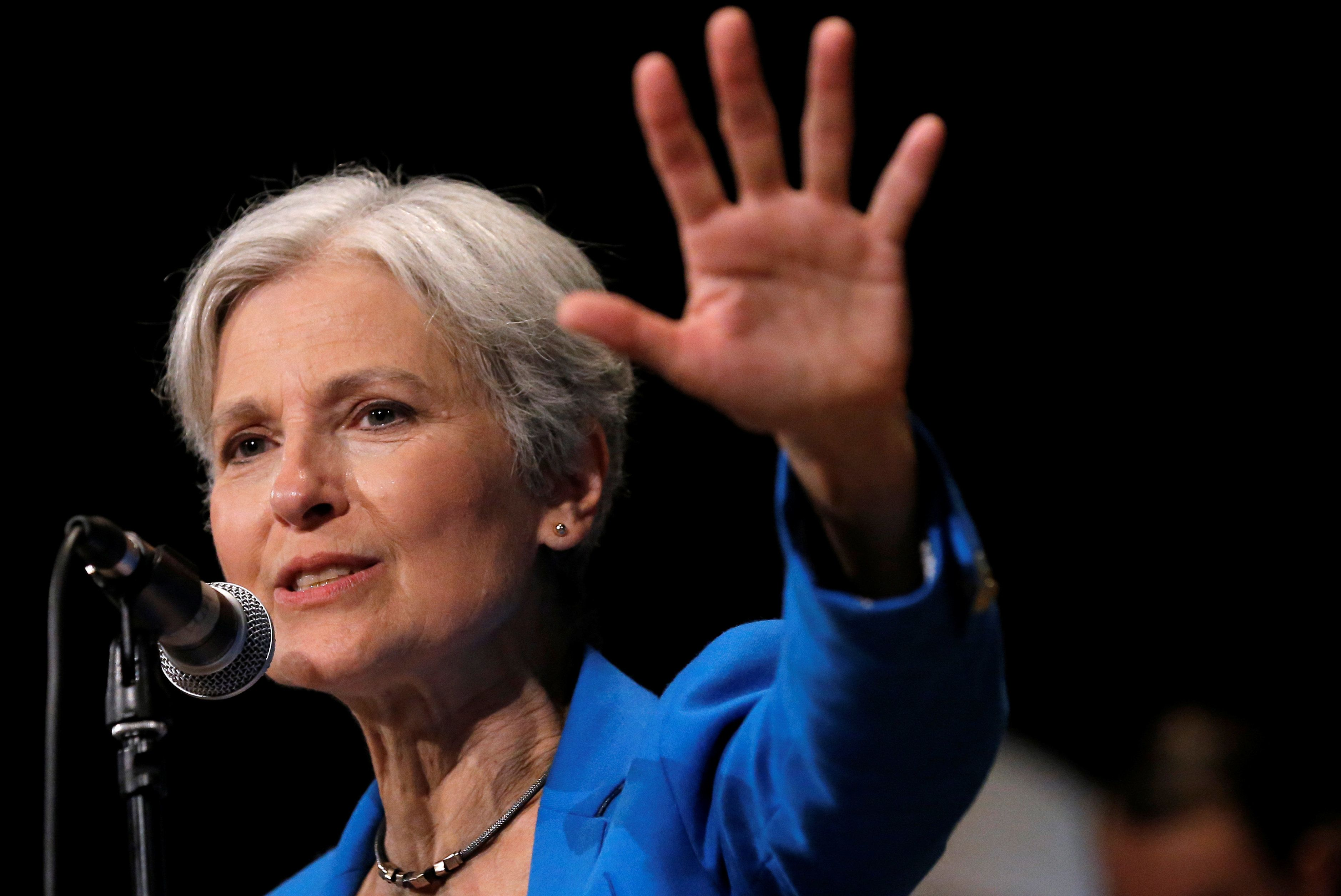 Jill Stein's Michigan election recount faces an uncertain future after a federal judge halted it on Wednesday night.