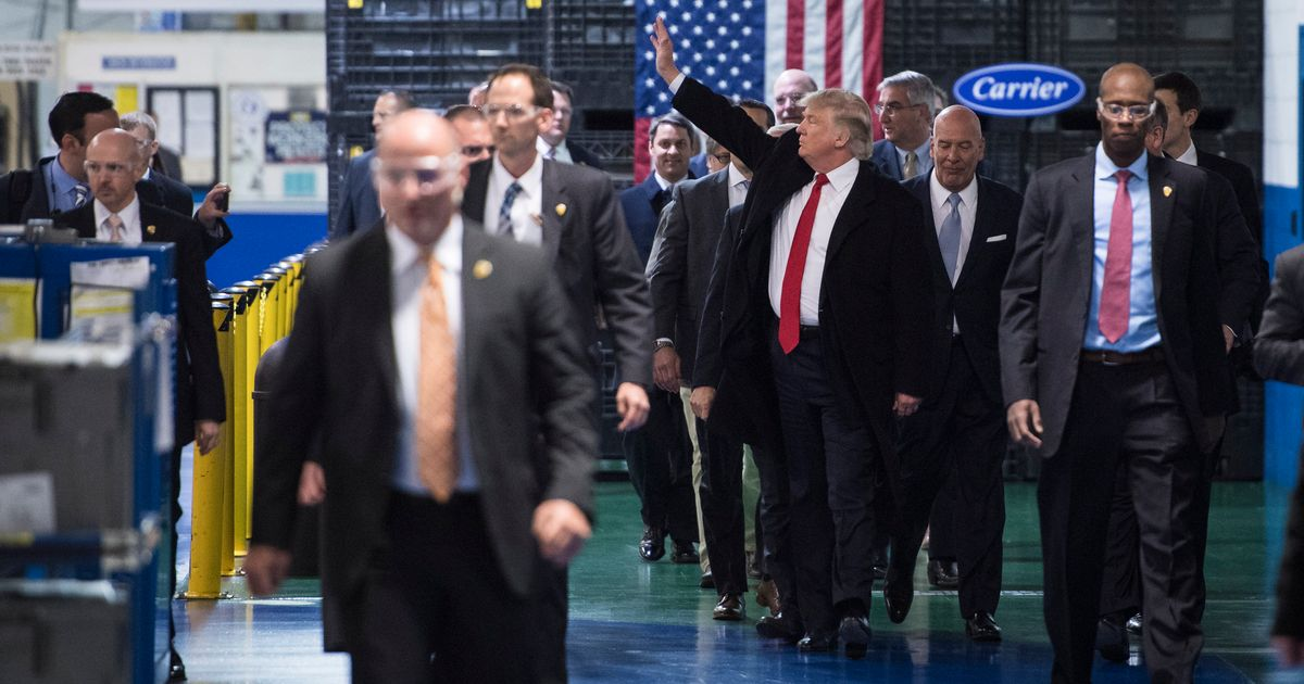 Donald Trump Attacks President Of Union That Represents Carrier Workers