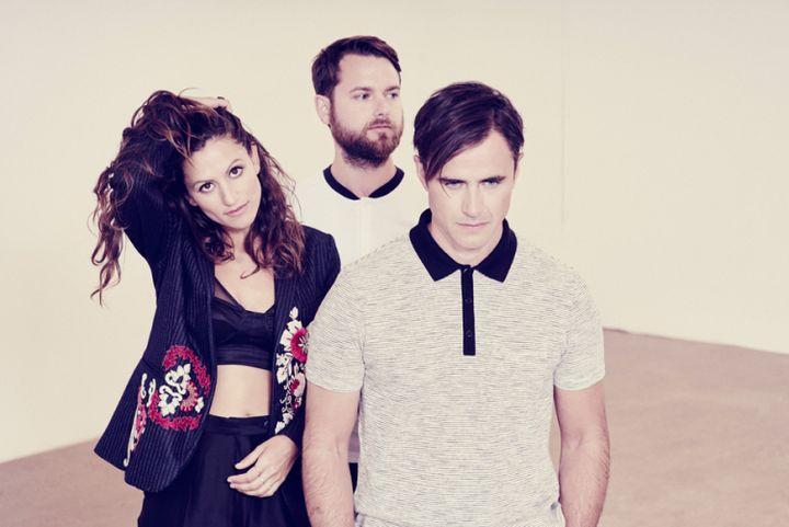 Martina Sorbara, Dan Kurtz and Joel Stouffer comprise Toronto-based band Dragonette.