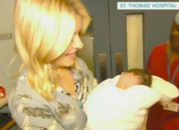 Holly Willoughby Criticised Because People Thought She Held Newborn Baby Before Mum