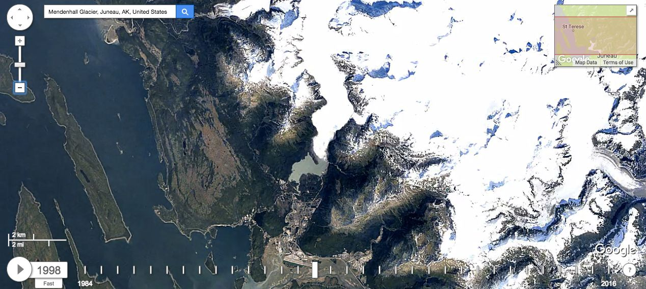 Discover How Climate Change Is Rapidly Transforming Our Earth With Google