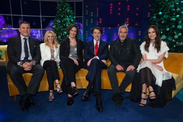 Miranda Hart, Paul Hollywood and Keira Knightley are also guests on the