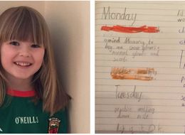This Six-Year-Old Flower Girl's To-Do List Before Aunt's Wedding Is So Adorable