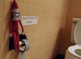 15 Pictures That Prove Elf On The Shelf Is Actually Creepy As Hell