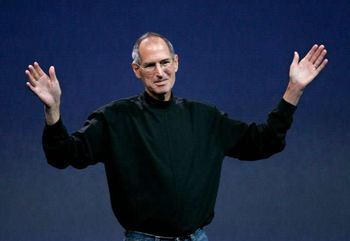 Former Apple CEO Steve Jobs pictured in 2008.